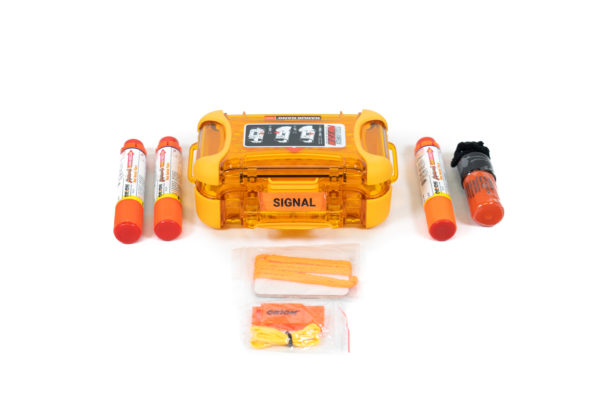 Nano 320 Signal Kit with SkyBlazer Flares, Dye Marker, Mirror and Whistle